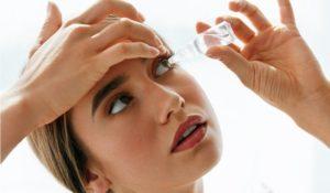 gotas para los ojos para tratar la conjuntivitis alérgica