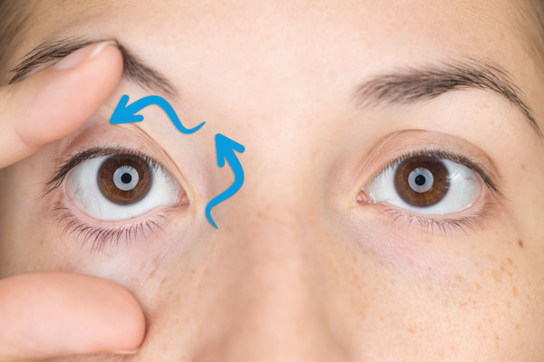 Movimientos ojo con nistagmus