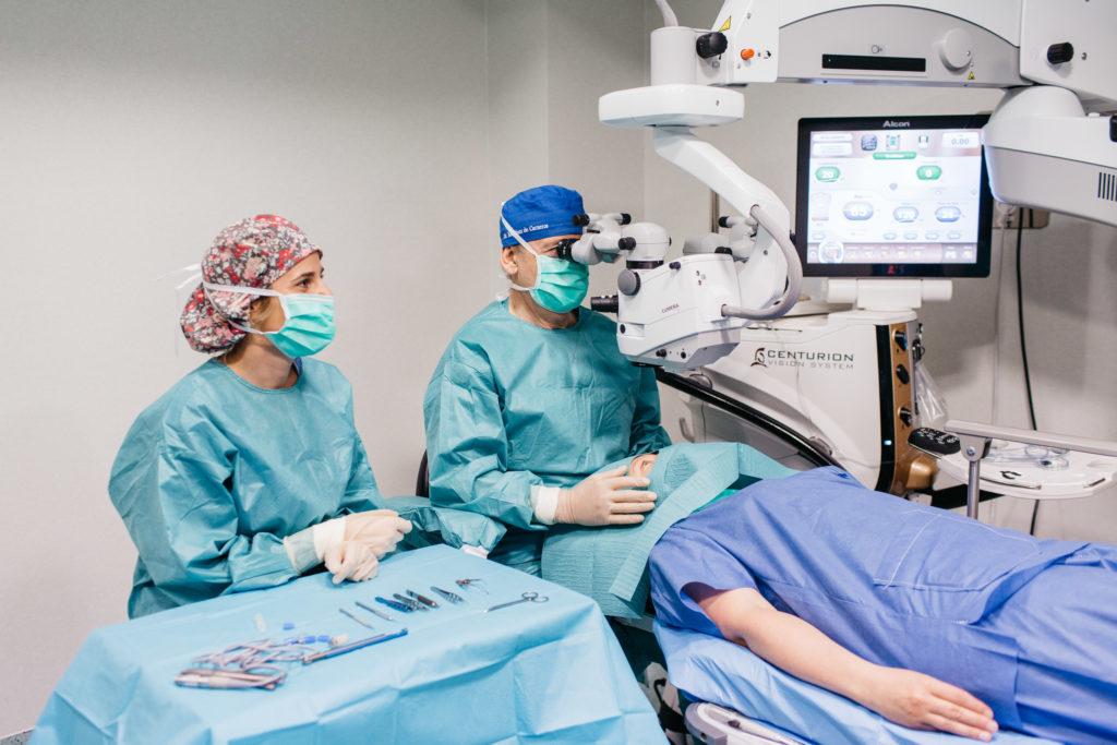 cirugía cataratas en madrid