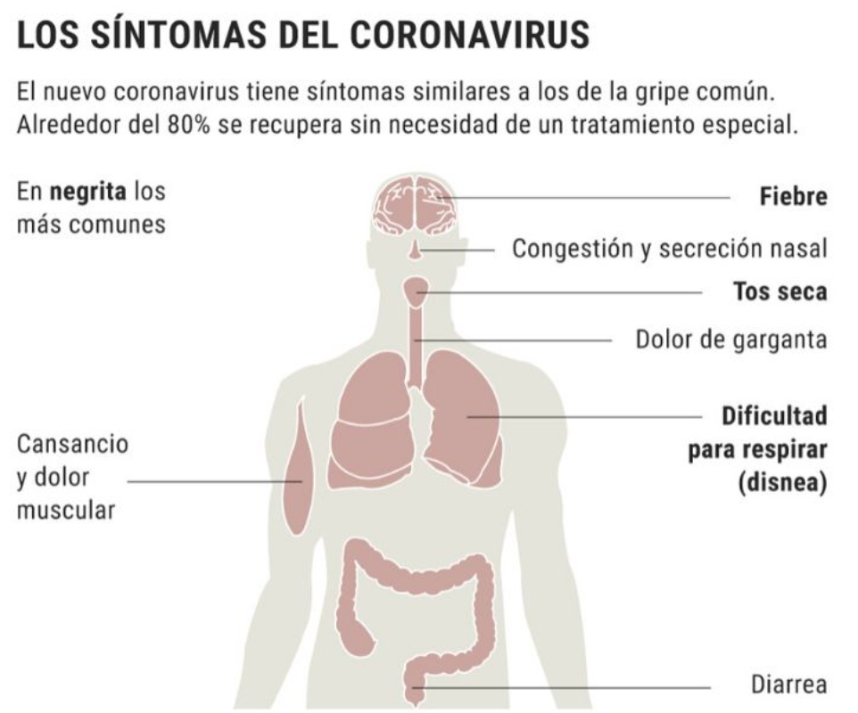 Síntomas COVID -19